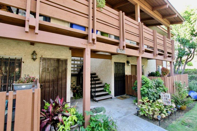 The entryway into Country Club Villas