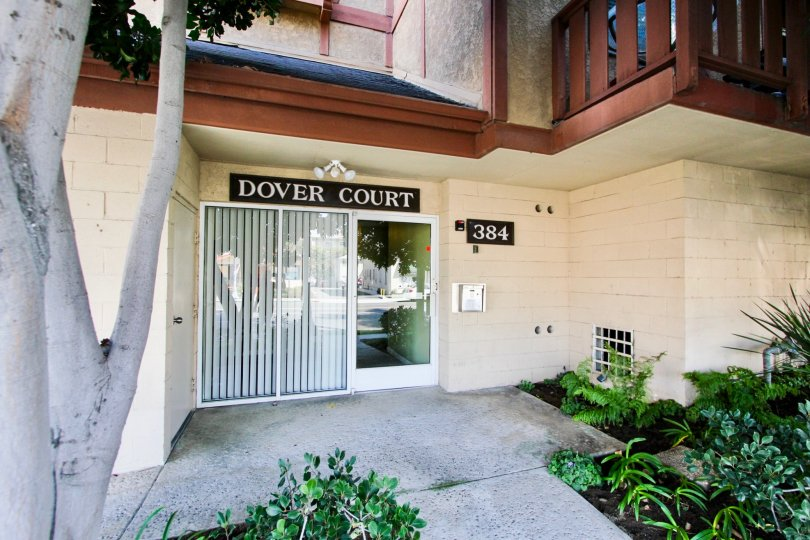 The Dover Court name above the entrance