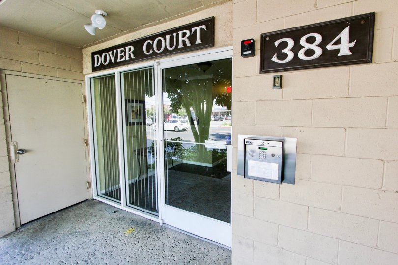 The entrance into Dover Court