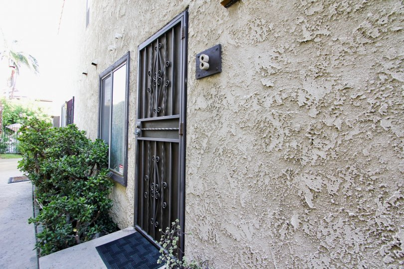 A unit entrance at Highland Haciendas