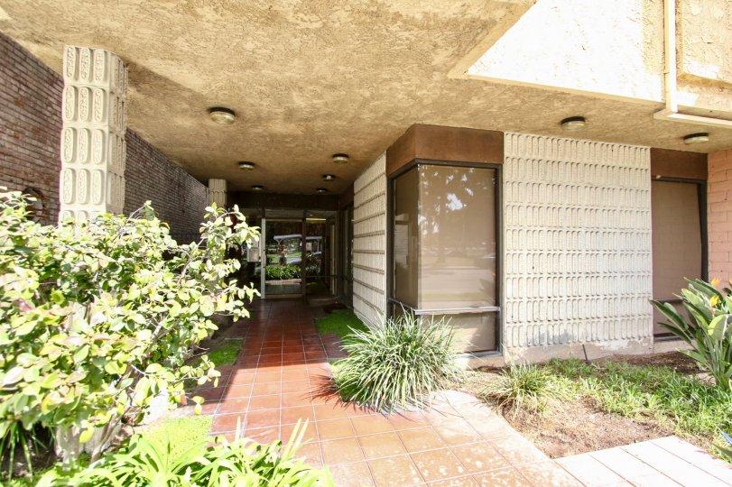 The entryway into La Plaza
