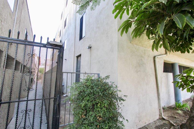 The gate into Long Beach Redondo West in Long Beach, California