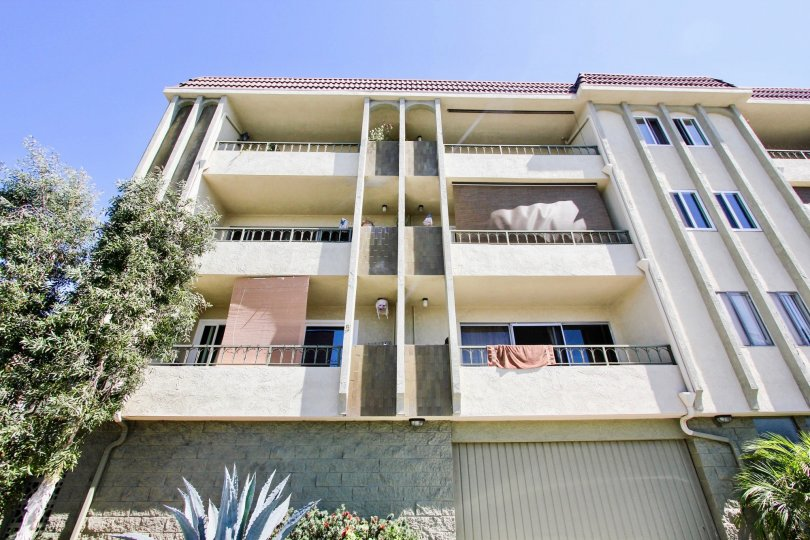 The view of Redondo Plaza Condominiums