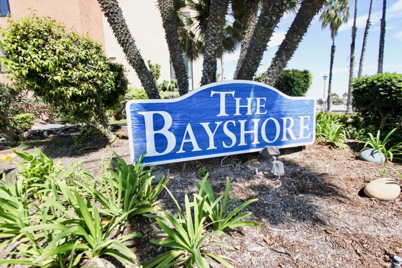 The sign into The Bayshore