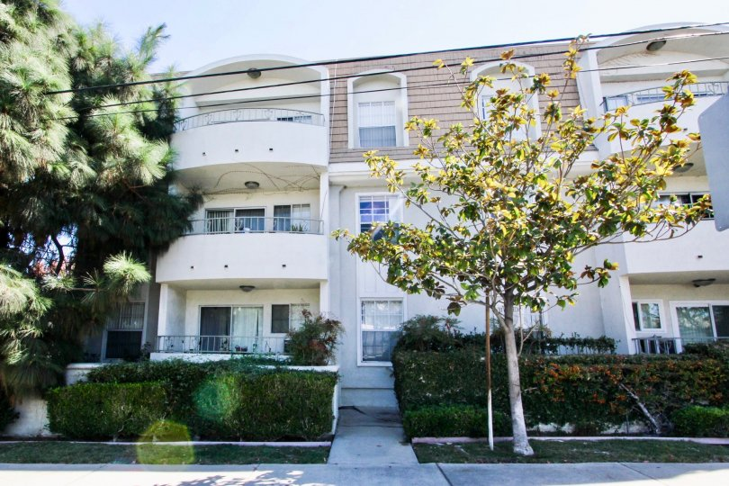 The view of The Park Estates in Long Beach, California