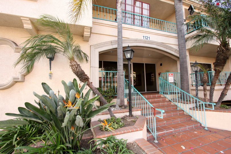 Villa Del Obispo Long Beach California building suitable for holiday vacations and good living