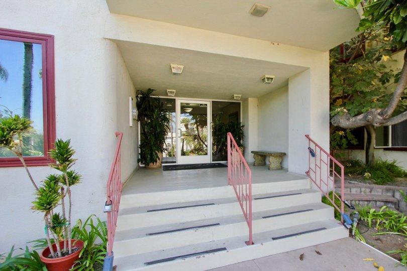 The stairs up to Glen Feliz in Los Feliz, California