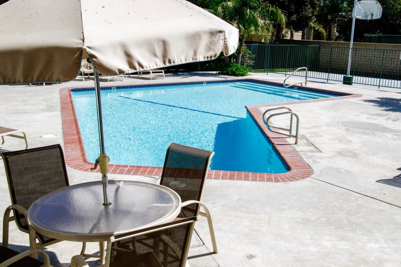 The pool at Malibu Gardens