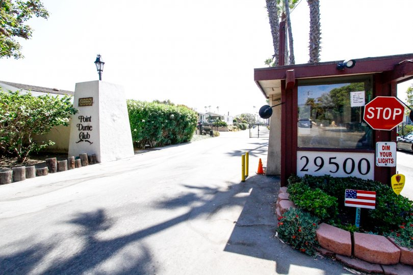 The address of Point Dume Club