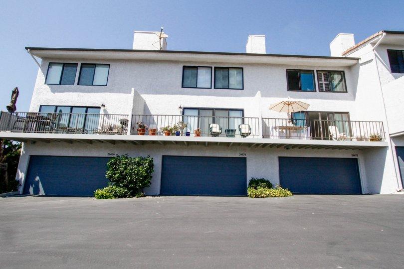 The view of Zuma Bay Villas in CA California