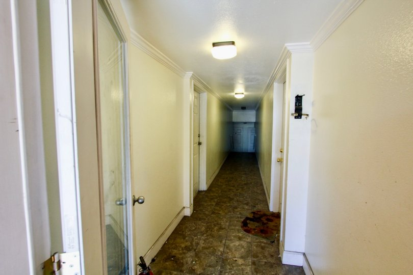The hallway inside of 11417 Culver Blvd