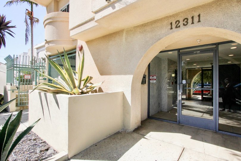 The entrance into 12311 Pacific Ave