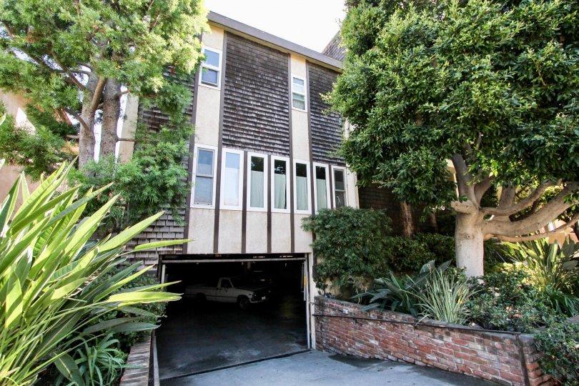 The garage for 12740 Pacific in Mar Vista, California