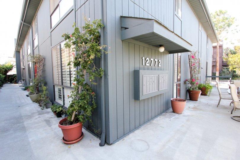 The sidewalk around 12772 Pacific Ave in Mar Vista, California