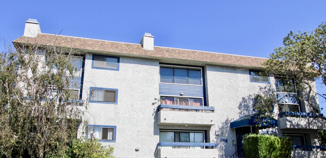 The view of 3988 Beethoven in Mar Vista, California