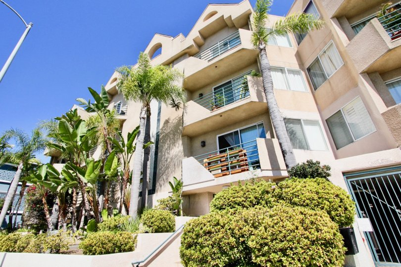 The view of Centinela Ocean View Condos in Mar Vista, California