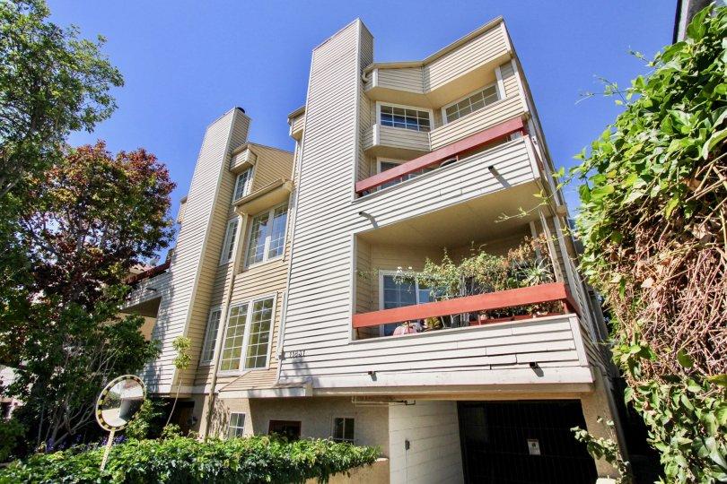The balconies at Courtleigh Condos