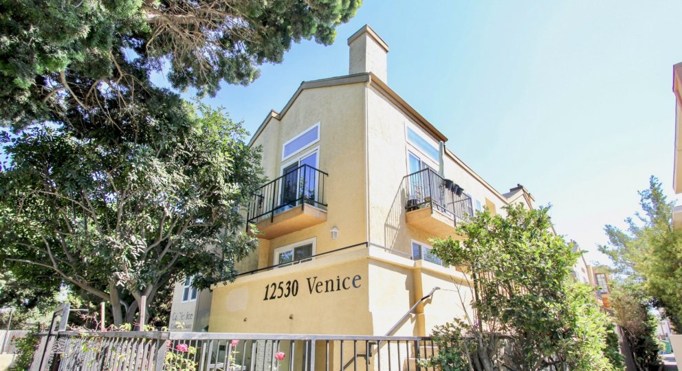 The view of On Venice Condominiums