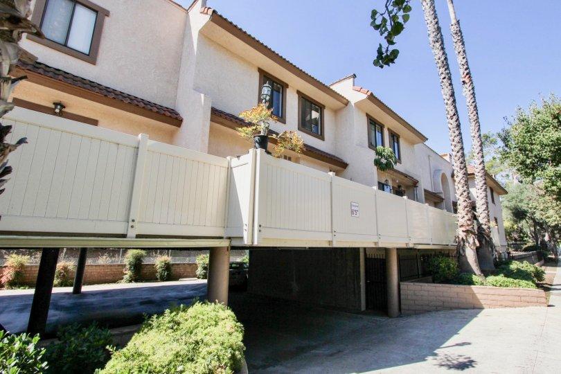 The garage entrance at Villa Margarita