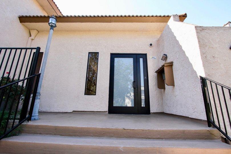 The entrance into the Villa Margarita