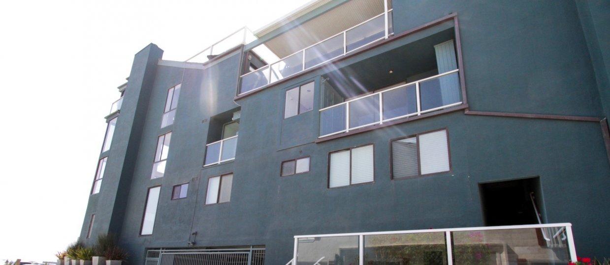 The balconies seen at 1 Buccaneer
