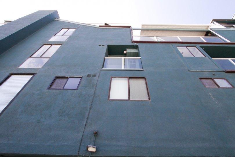 The windows in 1 Buccaneer