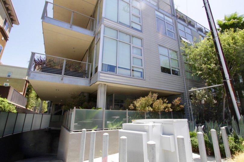 The Gallery Lofts building in Marina Del Rey