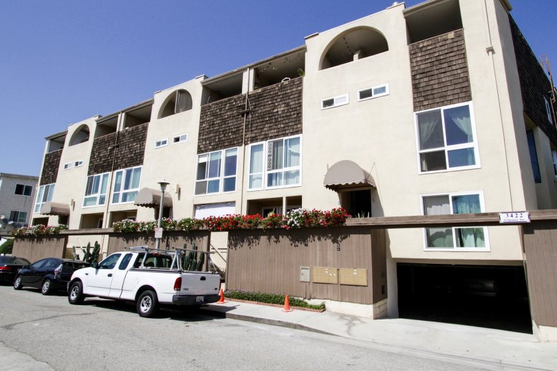The Marina Shores building at Marina Del Rey