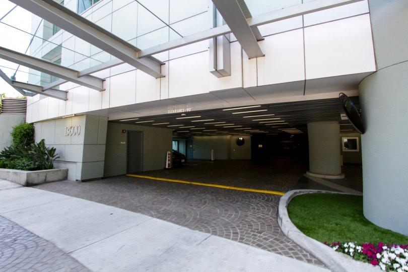 The parking for Regatta Seaside Residences in Marina Del Rey