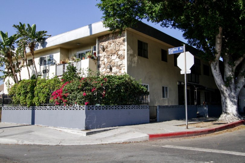 The building at 6904 Radford Ave in North Hollywood