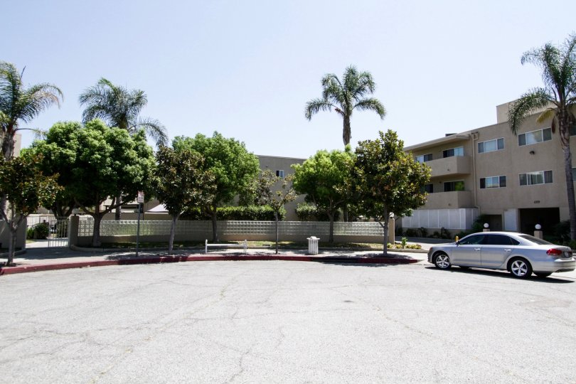 The lot next to the North Hollywood Terrace
