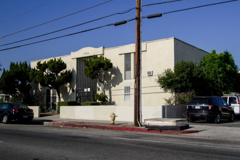 The Laurels building in North Hollywood