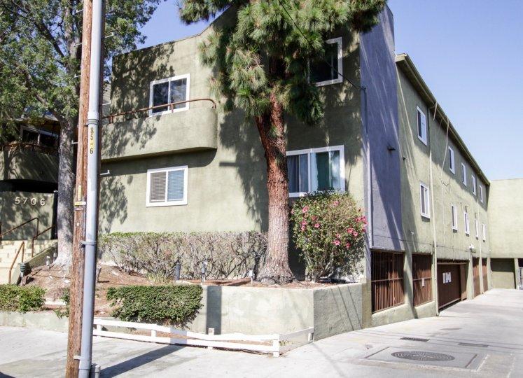 The Villas building in North Hollywood