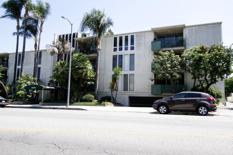 The Toluca Villa building in North Hollywood