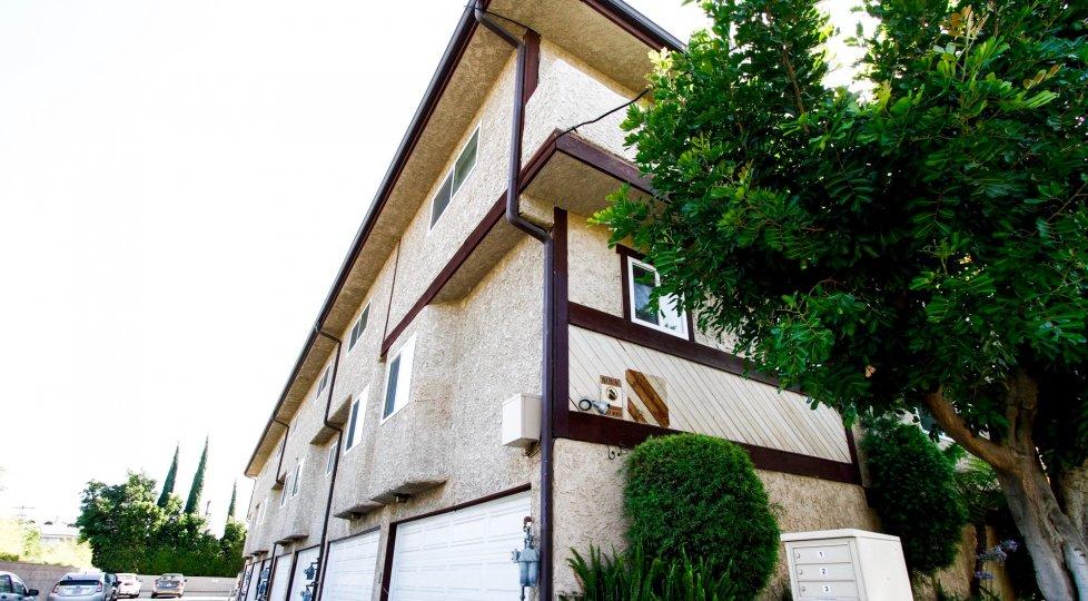 The Barbara Townhomes building in Northridge CA