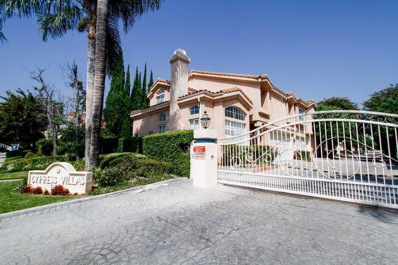 The Cypress Villas building in Northridge CA