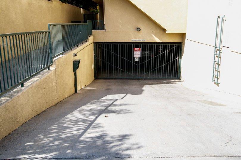 The parking for Northridge Village in Northridge CA