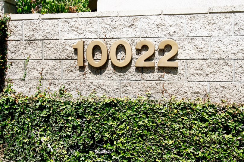 The address at Parkside Townhomes