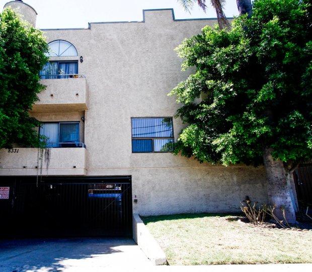 The Cedros Villas building in Panorama City California
