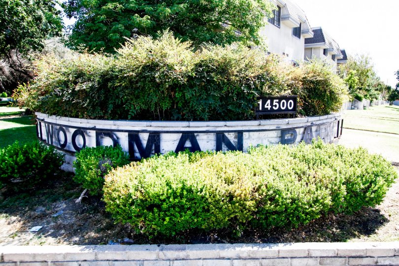 The address at the Woodman Park