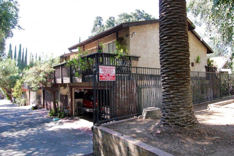 The view of 1415 El Sereno in Pasadena, California