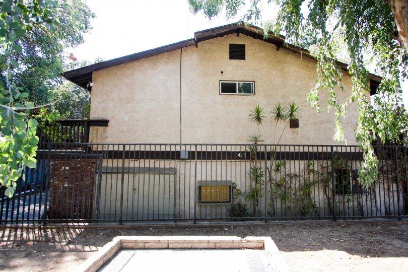 The fence around 1415 El Sereno