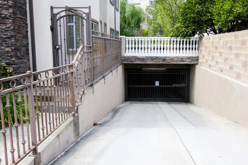 The parking garage at 149 Harkness Ave