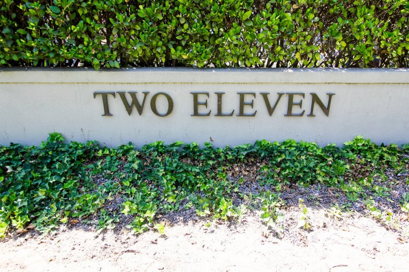 The sign announcing 211 S Orange Grove Blvd