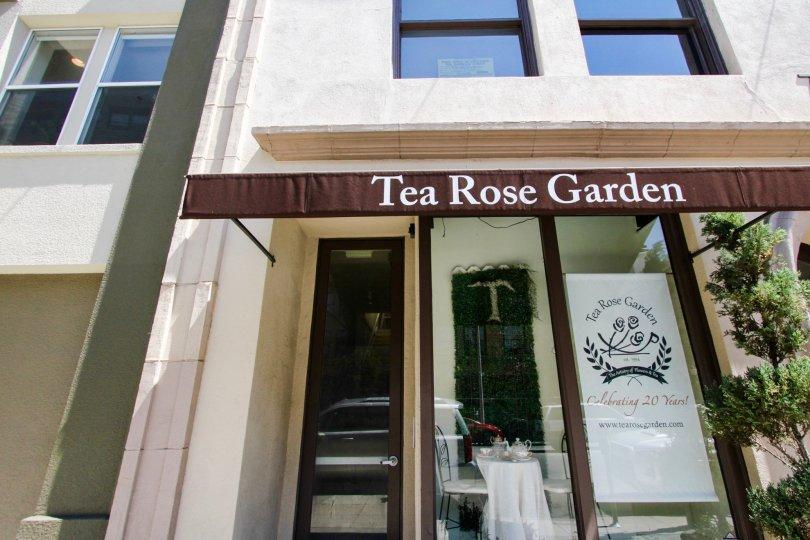 The Tea Rose Gardens at 80 North Raymond in Pasadena, California