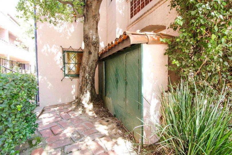 The intricate windows seen in Casa Torre