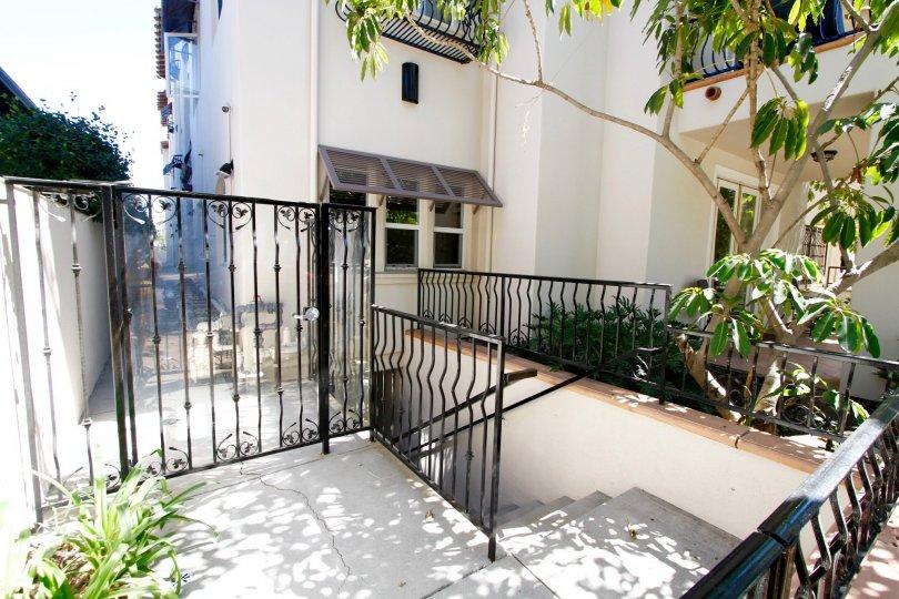 The gate entrance into Corta Bella