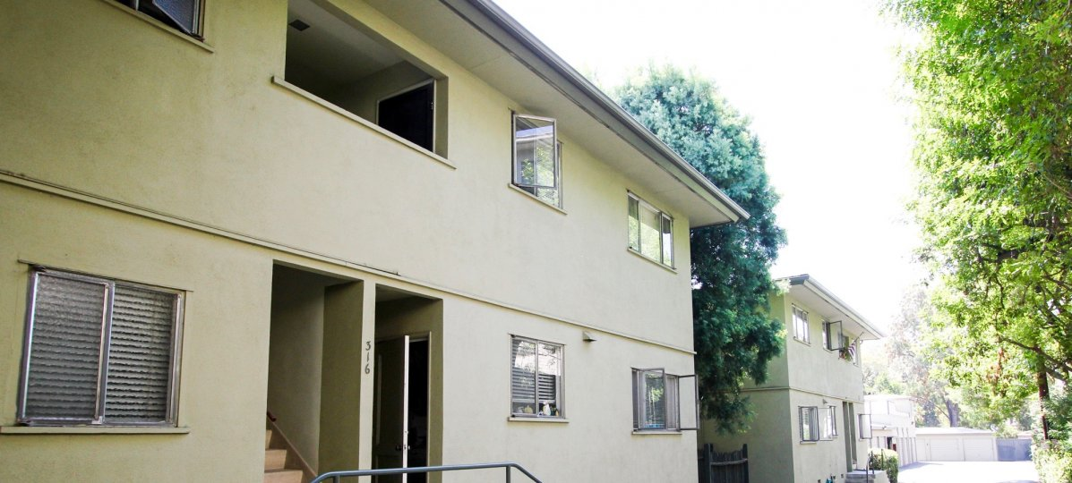 The units at Croyden Park in Pasadena, California