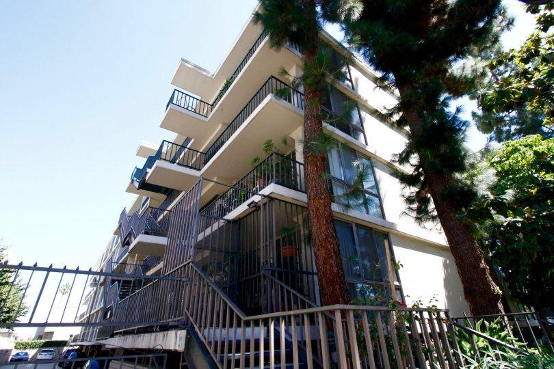 The Regency Del Mar building in Pasadena, California