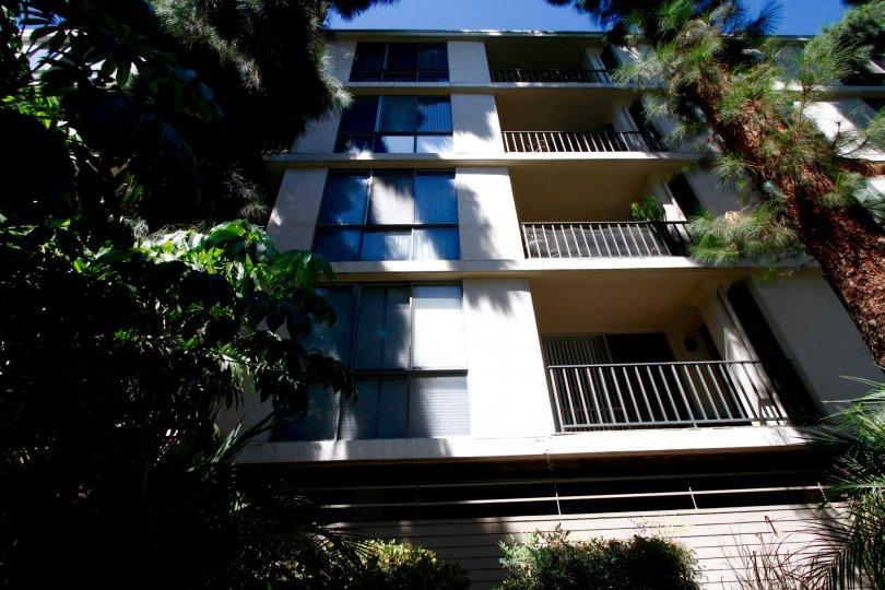 The balconies seen at the Regency Del Mar
